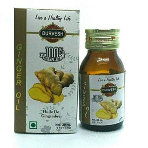 Durvesh Ginger Oil 1 oz / 30 ml زيت الزيجبيل