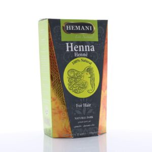 Hemani Natural Dark Black Henna Hair Color
