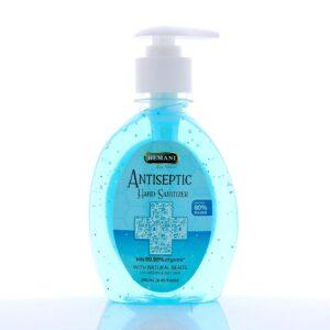 HEMANI Hand Sanitizer Gel with Pump - 80% Alcohol