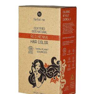 Herbal Me - Red Henna Hair Color CERTIFIED 100% VEGAN & HALAL
