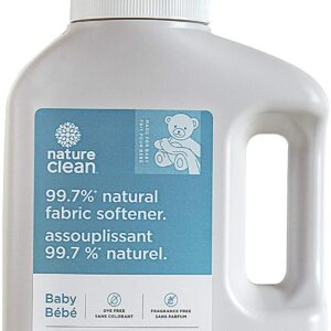 Nature Clean Baby Fabric Softener Fragrance-Free, 50.7 Fluid Ounce