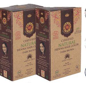Herbal Me - Dark Brown Henna Hair Color Combo CERTIFIED 100% VEGAN & HALAL