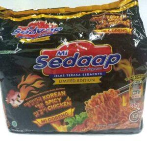 Mi Sedaap Korean Spicy Chicken 3.06 oz (Pack of 6)