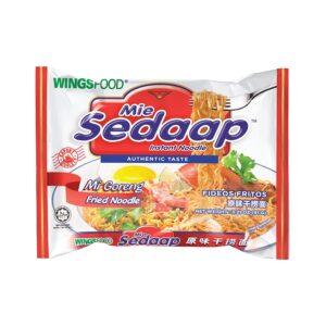 Mi Sedaap Mi Goreng, Fried Noodle, Halal Certified, (Original, Pack of 30)