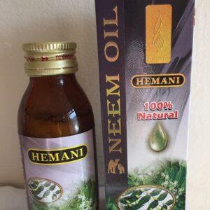 100% Natural Pure Hemani Neem Oil (Azadirachta Indica) 60ml