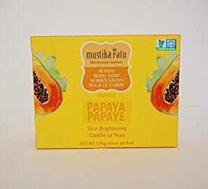 Mustika Ratu Body Soap Papaya 3 Pack bar soap 300gr