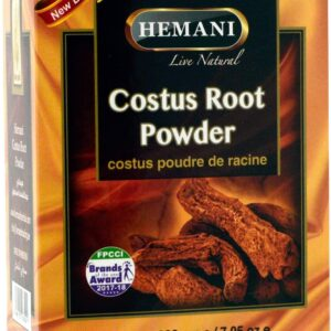 HEMANI Costus Root Powder - Qist Al Hindi - Saussurea Lappa