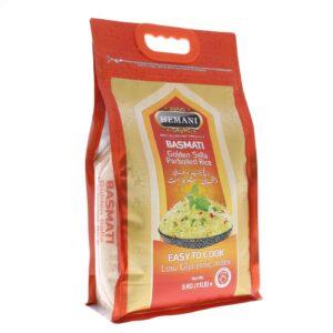 HEMANI Basmati Golden Sella Parboiled Rice 11LB
