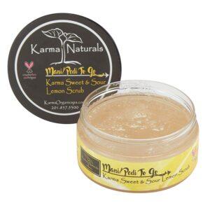 Karma Organic Natural Lemon Scrub