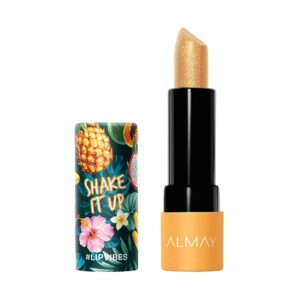 Almay Lip Vibes, Shake it Up, 0.14 Ounce, lipstick topper
